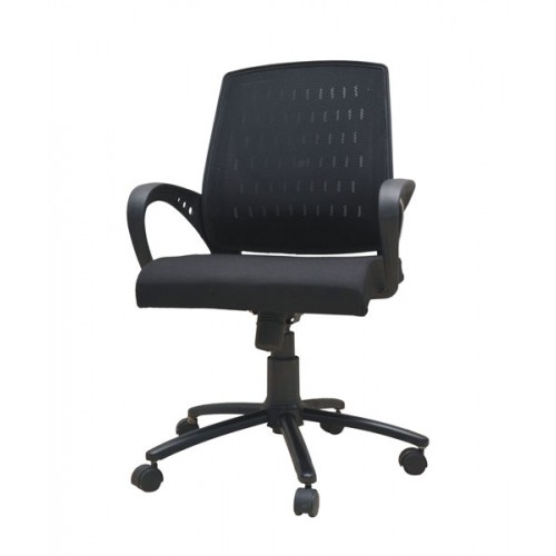 Wire Mesh Medium-Back Computer Chair