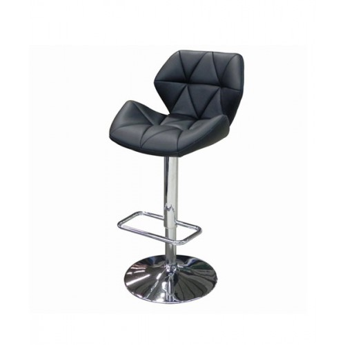 Swivel Black Hydraulic Bar Stool