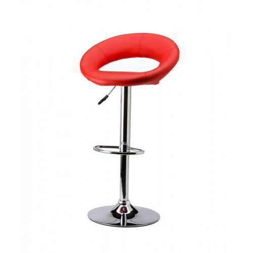 Elegant PU Leather Modern Adjustable Hydraulic Bar Stool
